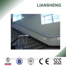 pasamanos de plástico PVC para la escalera interior