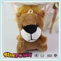 León de peluche juguetes, animales de peluche llavero, juguetes de león