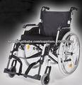 Multifuncional cuidado ligero plegable silla de ruedas de aleación de aluminio de las personas mayores con discapacidad Europea