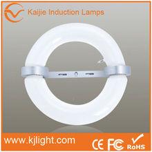 Lámpara de inducción de alto brillo de forma de rosquilla de baja frecuencia
