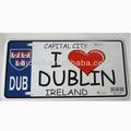 la ciudad de irlanda dublín decorativos metálicos licencias