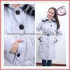 blanco caliente de lujo por la chaqueta Y11506