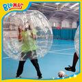 alta claro golpe bola de plástico de burbuja visible