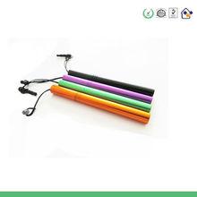 venda de natal original multifuncional caneta capacitivo e prata brilhante jogo clássico preto para o gps caneta de toque