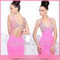 c371 de color rosa con cuentas sin respaldo de cuello en v para adultos dama caliente sexo foto winx club vestido