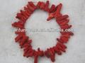 venta al por mayor en bruto naturales sugget de coral rojo de los precios