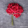 Artificial Rose de seda de flores de la boda, arte hecho a mano de la flor artificial de la espuma para la decoración de la boda