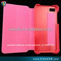 chep pie de cuero de teléfono celular caso para blackberry z10