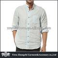 camisas de linho puro