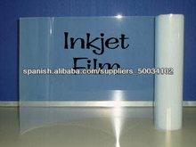 claro transparente de inyección de tinta película( no-waterproof), 110um, por serigrafía