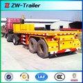 Tri 20-48ft 2 o ejes remolque contenedor de chasis para trabajo pesado