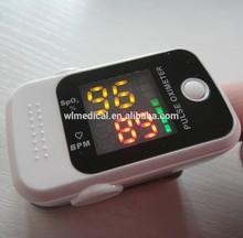 cuidado en el hogar figertip oxímetro de pulso