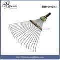 propagación del rastrillo de acero rastrillo de la hoja de jardín rastrillo de dientes 18