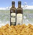 medicina de la hierba aceite de semilla de lino