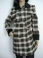 La mode des dames col de fourrure manteaux vestes d'hiver dubaï. vêtements. à ningbo