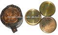 brújula australiano centavo, brújula australiano, antiguo centavo, compás de regalo
