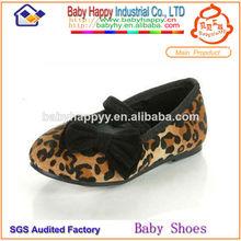moda leopardo de última moda zapatos de los niños