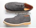2015 material de reparación de calzado para hombres zapatos de suela plana en dongguan fabricantes