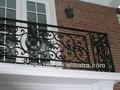 Hierro barandillas de los balcones diseños/top venta de hierro balcón barandilla de diseños