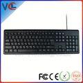 conexión de cable super costo- efectiva de escritorio con el teclado muctifunctional las llaves de la fábrica de china