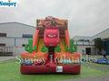 EN14960 Inflable parque de atracciones juego inflable tobogán coche inflable