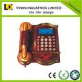 popular europeo de diseño de moda de teléfono grabadora de llamadas