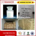 Sg3/sg5 suspensión de cloruro de polivinilo/de resina de pvc con valor k k65/k67/k68 para tubería de pvc