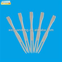 bambou alimentaire fruits fourches pour enfants fabriqués en chine