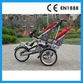 gemelos bebé bicicleta de paseo para la madre