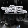 Luces de cristal colgante, moderno colgante de luz