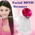 iónica super hidratante rociador portátil de vapor facial de la máquina