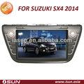 8 pulgadas de pantalla táctil del coche sistema de entretenimiento para suzuki sx4 2014