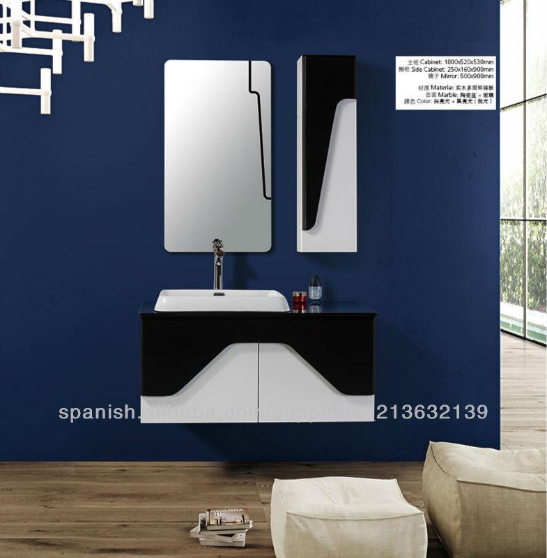 Gabinete Para Baño Madera:de diseño moderno cuarto de baño del gabinete de madera
