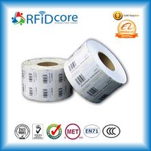 Personalizada auto-adhesivo de etiquetas rfid para el seguimiento de las mercancías