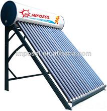 200l integrado de la pipa de calor solar del calentador de energía con el ce, la norma iso, solar keymark