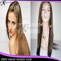 2013 nueva llegada cabello humano primas peluca de encaje en dubai