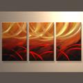venta al por mayor de alta calidad de moda tríptico de arte de la pintura