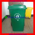 Escaninhos 100L Wheely plástico de lixo ao ar livre
