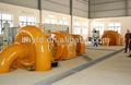 Centrales eléctricas con dos generadores de turbina Francis