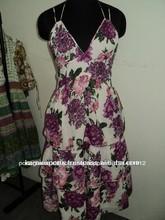 algodão vestido de moça jaipur maxi vestidos florais impressos voile tecidos vestidos halter pescoço vestidos vestidos
