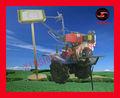 Novedad Diesel / Gasolina Motor Driven Gear agricultual Mini sierpe rotatoria
