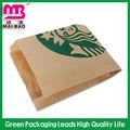 fda padrão brown sacos de papel de pão para loja de varejo