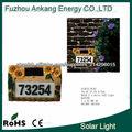 Letrero Solar para Números d