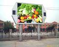 el precio de fábrica hd p10 al aire libre de los coches de alquiler de camiones de la publicidad de la pantalla led