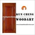 Cores da pintura de portas de madeira/sólidos de madeira de madeira da porta de entrada da folha/fechadura da porta deslizante