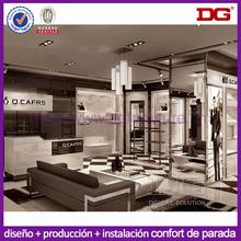 ropa de moda la decoración de la tienda la tienda de ropa de diseño de interiores