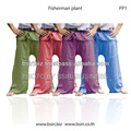 Thai Pant Fisherman cotton yoga pants