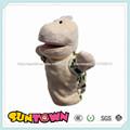Lindo muñeco de peluche de la mano de los animales títeres/marionetas/títeres/marionetas de los animales