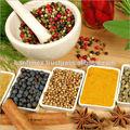 Las especias de vietnam: pimienta. Anís de estrella, cassia