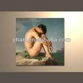 beautiful esticada lona óleos pintura mulheres nuas